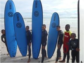 Surf Afrique du Sud - Justine   Je me casse