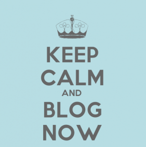 Keep calm and blog now   Je me casse