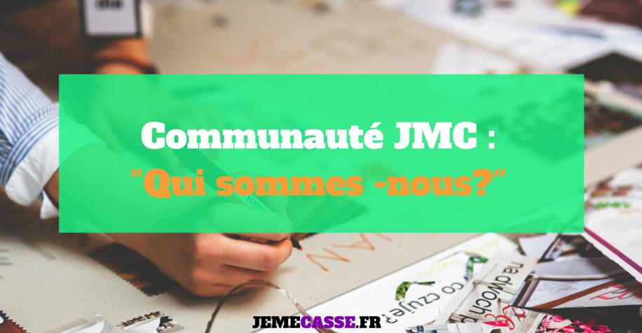 Communauté JMC - Qui sommes-nous ?