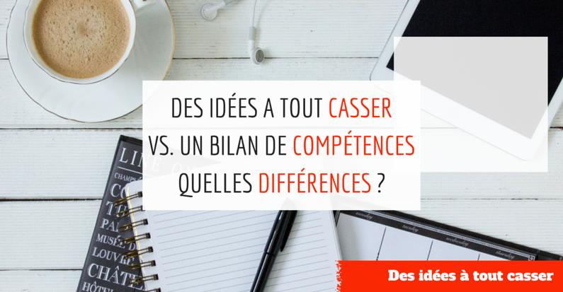 DIATC vs un bilan de compétences (1) | Je me casse