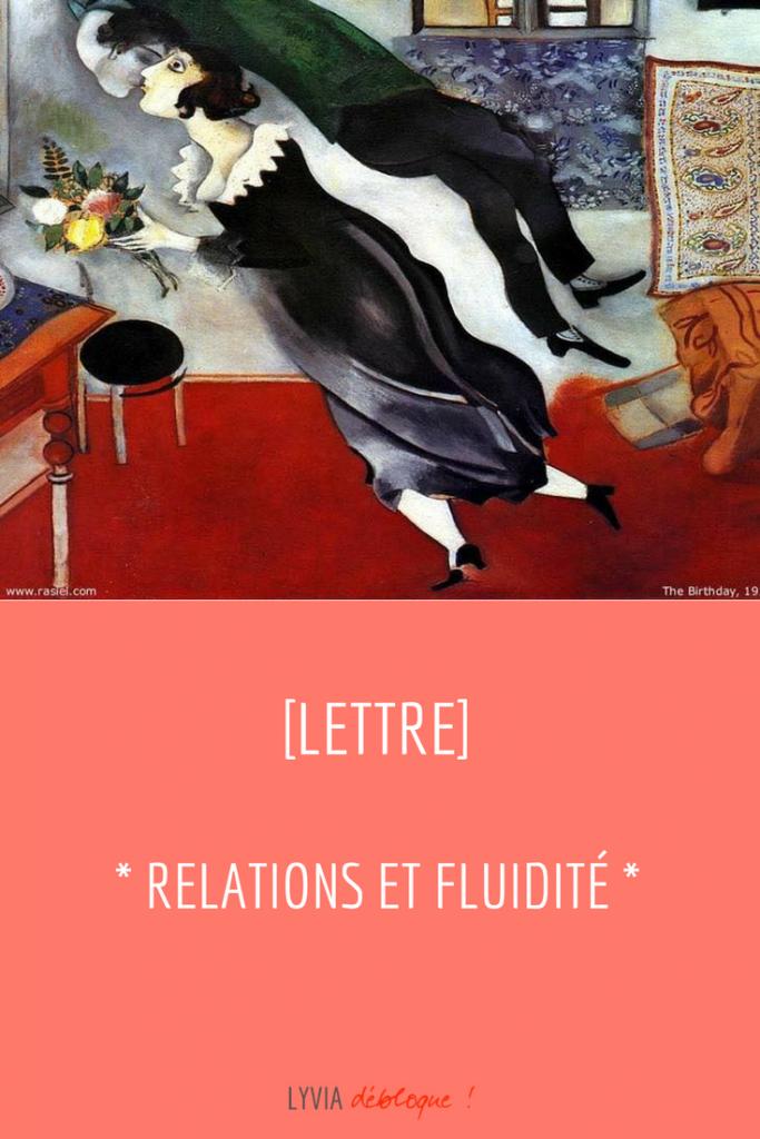 Relations et Fluidite
