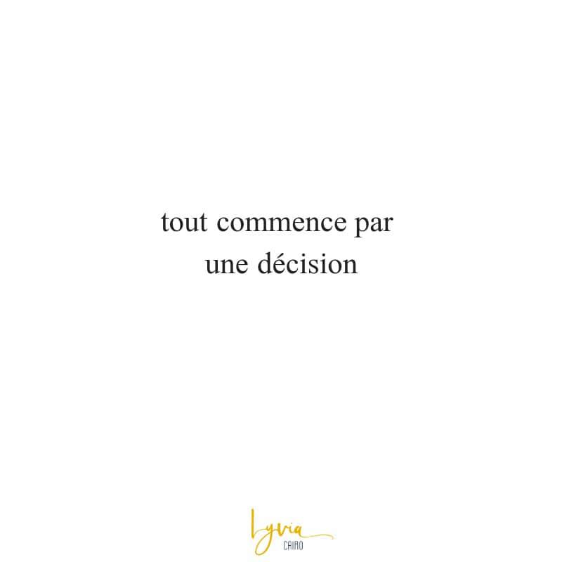 décision