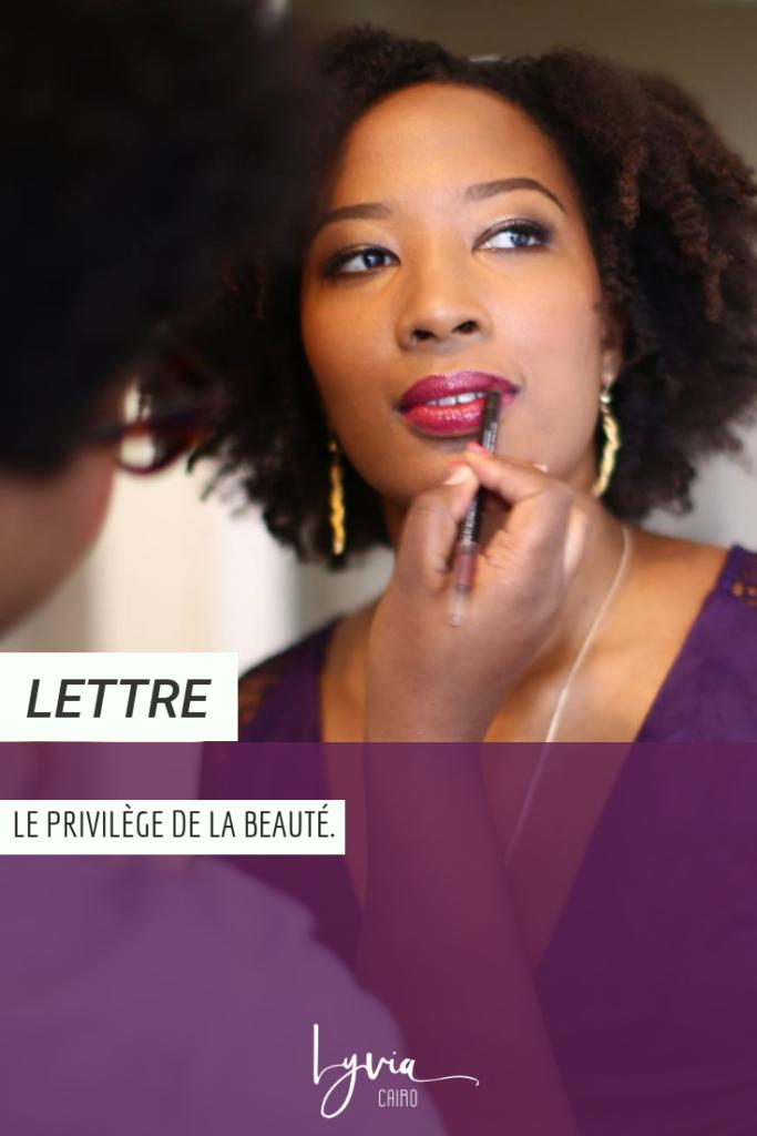 Le privilège de la beauté