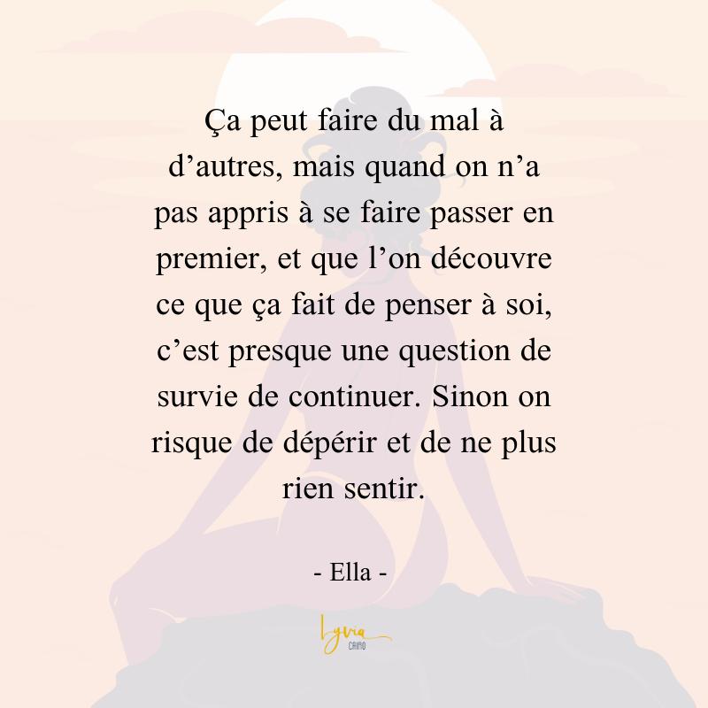 Citation Party Girl, Ella